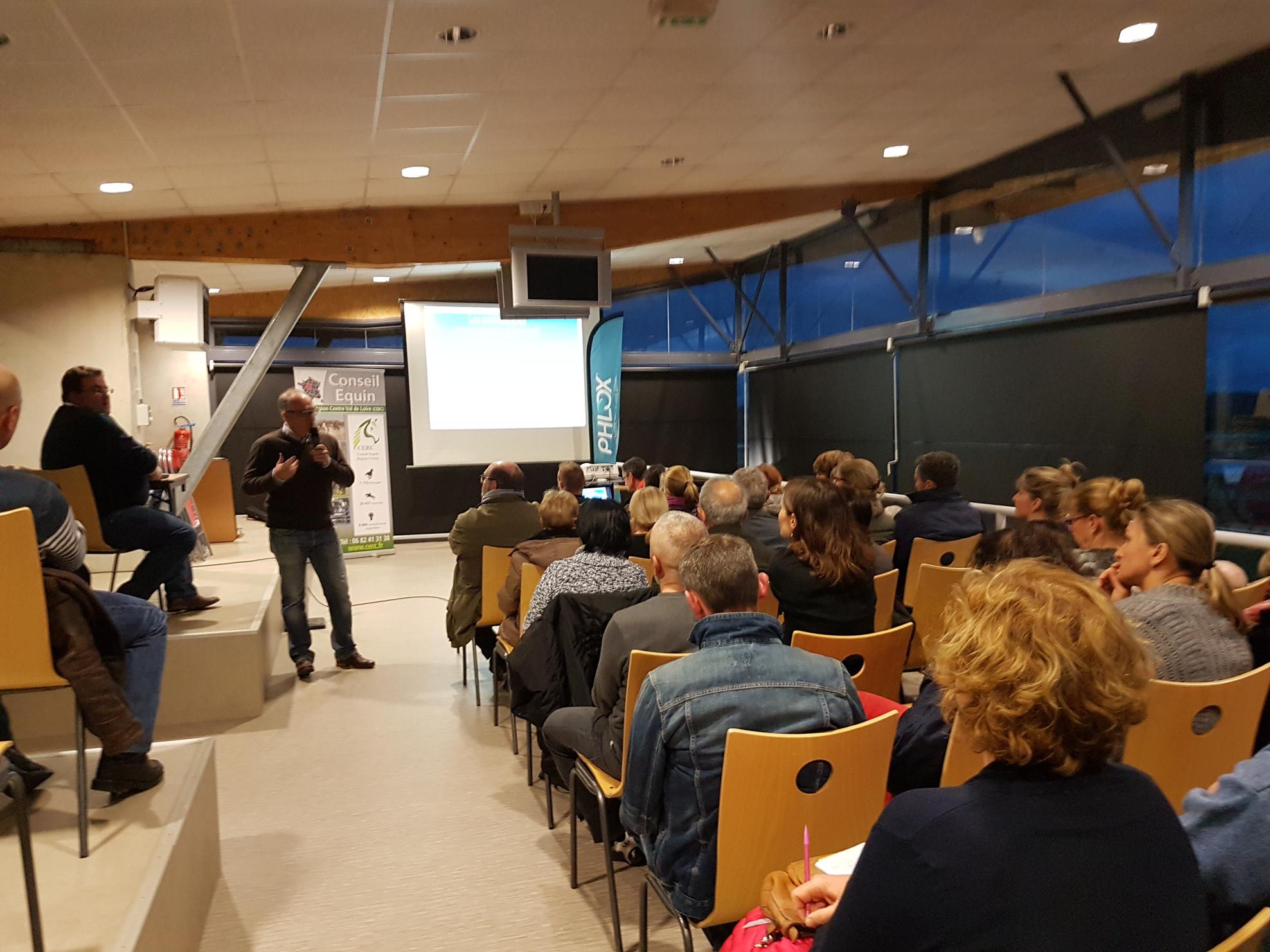 Succès pour la réunion technique sur la pathologie équine du 6 mars à Lignières