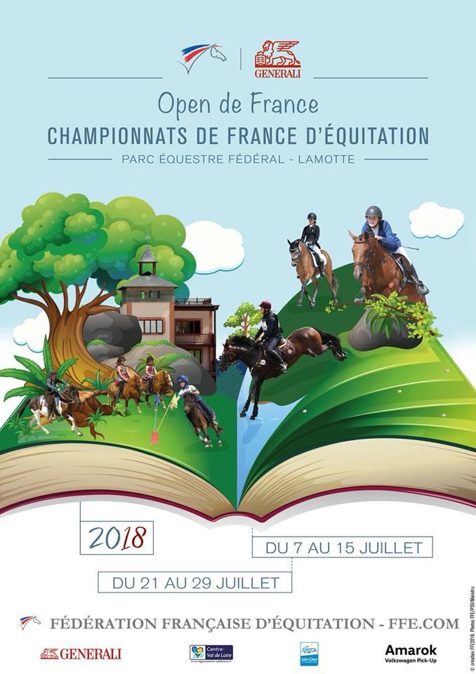 OPEN DE FRANCE - Championnats de France d'équitation