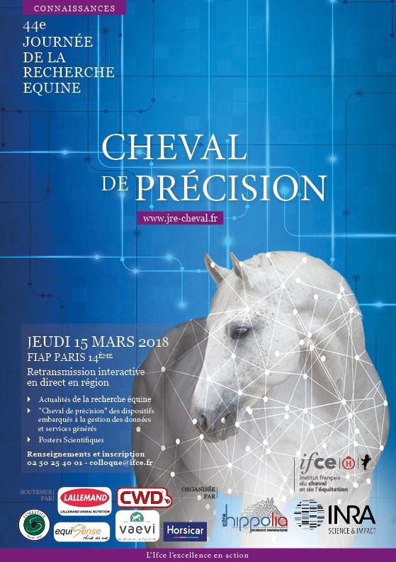 La 44ème Journée de la recherche équine Session spéciale : « Cheval de précision » le 15 mars 2018