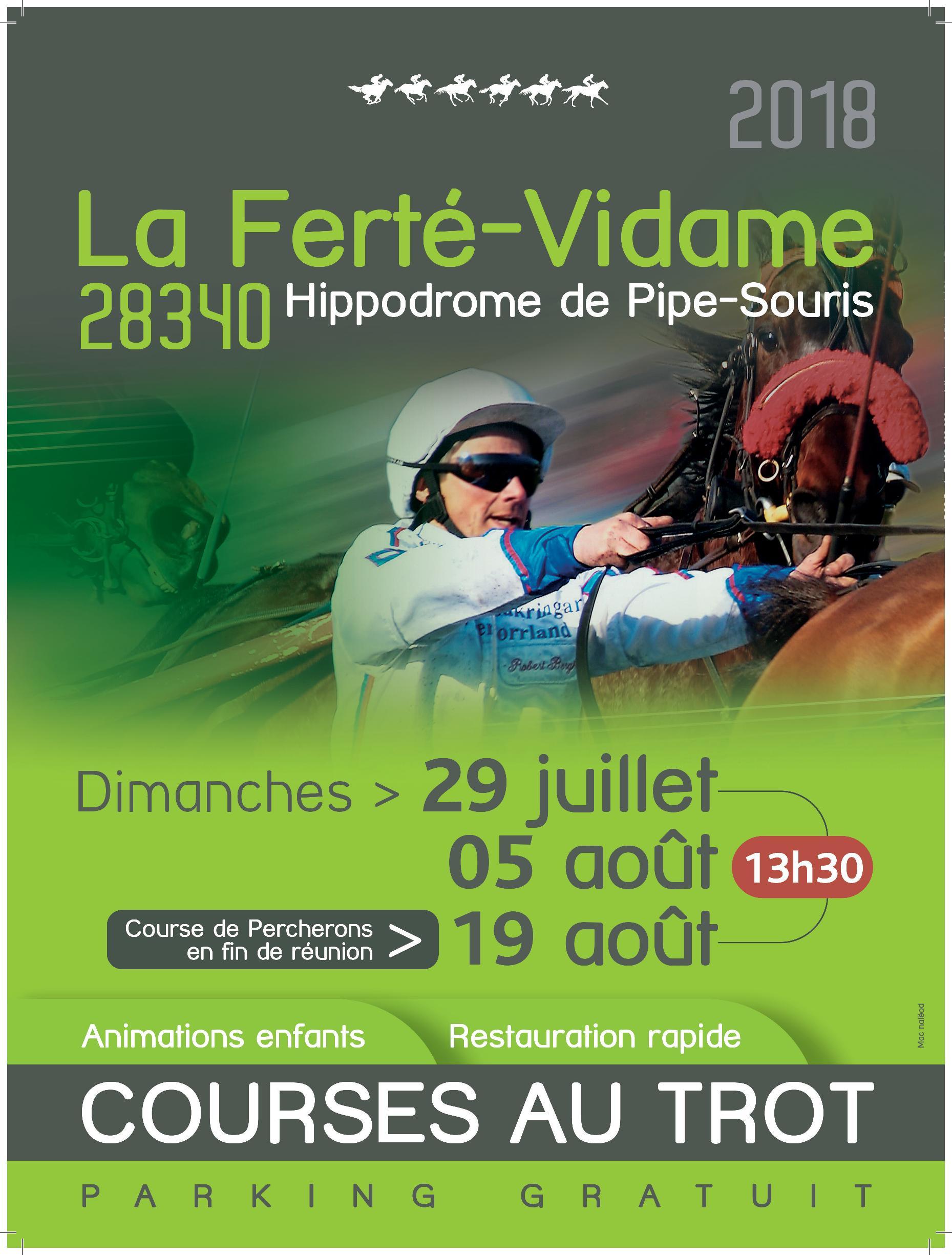 Programme des courses 2018 La Ferté Vidame