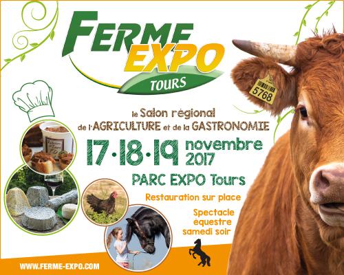 Ferme Expo Tours du 17 au 19 novembre